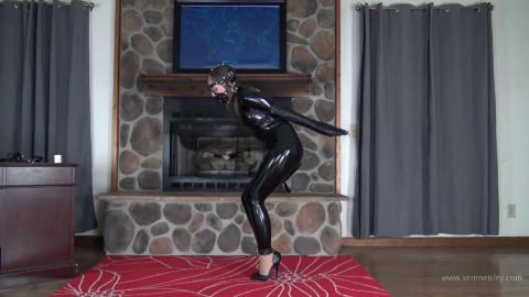 Rachel Adams - PVC Leather, and High Heels