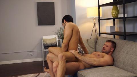 Austin Wolf plays impure director to hawt homosexual student, Shawn Abir
