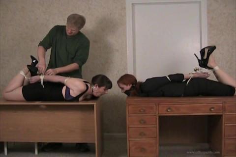 Sienna Aldridge & Elizabeth Andrews in - When the Boss is Away