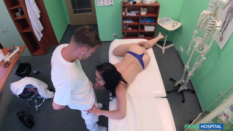 Dolly Diore - Sexy Babe Orgasms on Doctors Cock (2016)