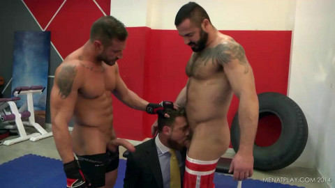 Men At Play - Double Strike - Logan Moore, Caleb Roca and Jessy Ares