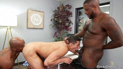 BlacksOnBoys Jim Fit, Micah Martinez & SmashThompson