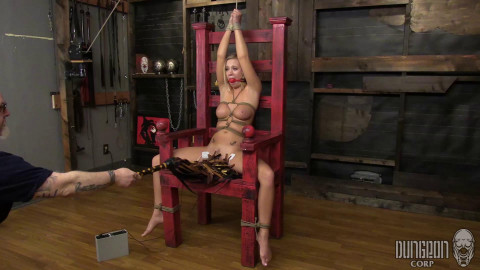 Classic Beauty Tested by Bondage part 2