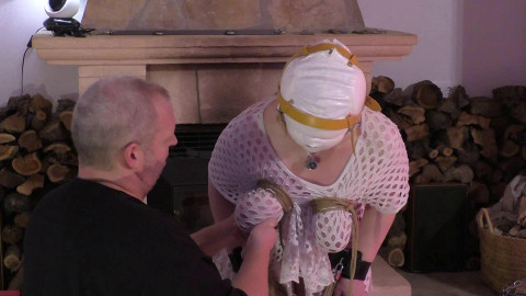 Ultra Breaststorture - Long raw Lesson for Titslave Tanja