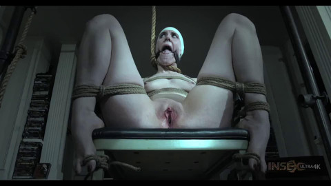 Tight bondage, spanking and torture for naked sexy slut part 1 HD 1080