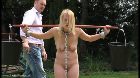 Hard tying, domination and torment for hawt blond part3 HD 1080p