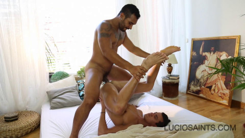 Lucio Saints fucks Nico Fuentes asshole 1080p