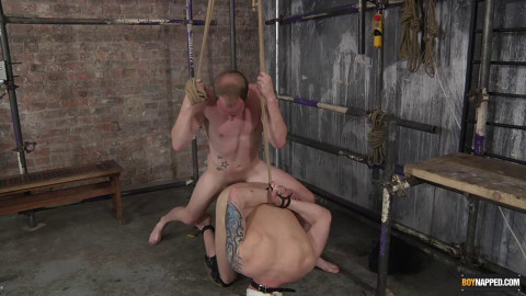 Blindfolded Jock Gets Owned
