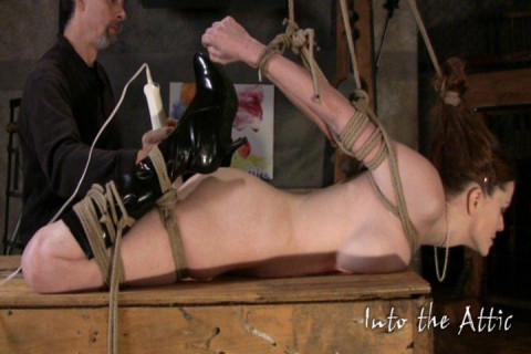 Sexy Kae Tied roped