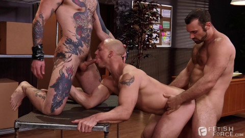 Sexual His ASSment, Scene 02: Jaxton Wheeler, Teddy Bryce, John Magnum