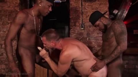 White Males Gangbanged By Black Dicks