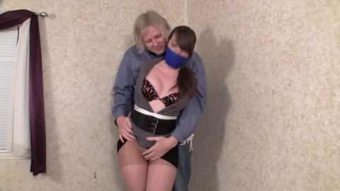 Elizabeth Andrews - Punished for Not Reordering Stock HD