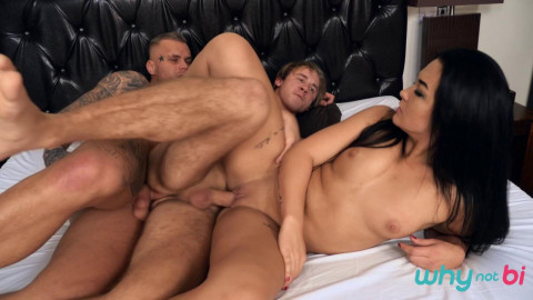 WhyNotBi - Ryan Cage, Christian, Sofia The Bum (720p)
