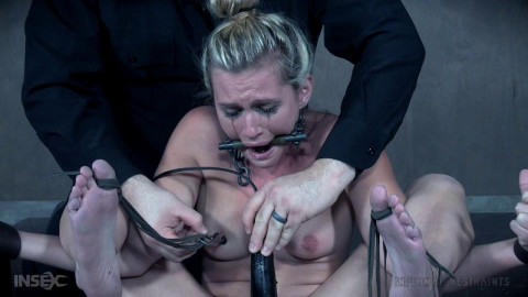 Locked Down and Lost In An Orgasmic Onslaught