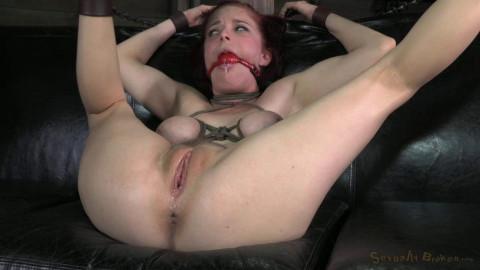 Tiny, big natural breasted redhead Penny Pax fucked hard