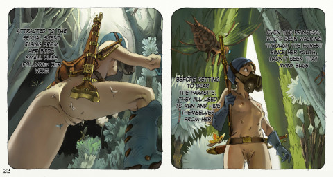 Nausica of the Valley of the Wind Vol1-3 Full color comic