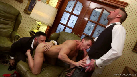 Mature Men In Threesome Anal