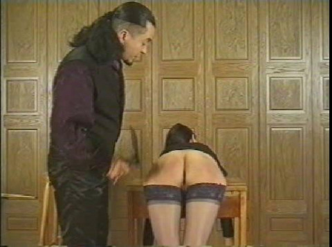 The caning of the spanish masters wife