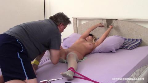 Bdsm Most Popular Hot Blonde Nicole Shelby Has Hitachi Orgasm!