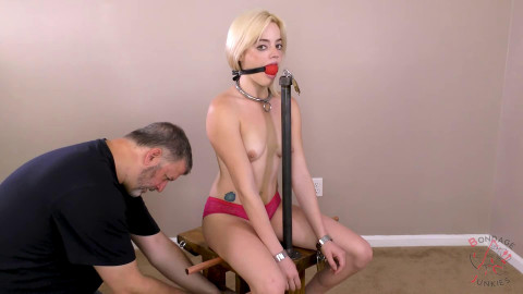 Bondage, predicament and domination for hawt beauty part 2 Full HD 1080p