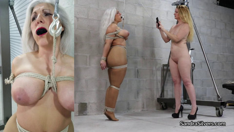Sandra Silvers, Brutally Bound Boobs by Lisa Harlotte