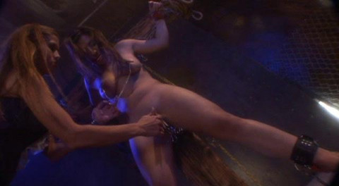Pretty girls punished.