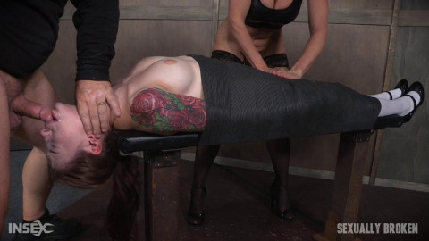 Anna De Ville Mummified With Vibrator and Throat Boarded By Couple! Part Two (2016)