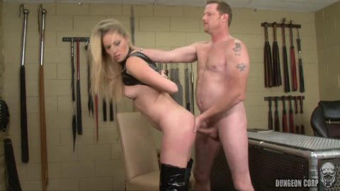 Super restraint bondage, spanking and torment for very gorgeous whore HD 1080p