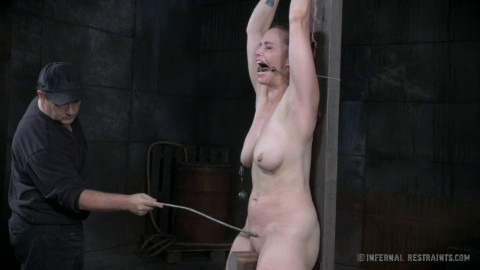 Hard bondage, spanking and torture for very sexy model Full HD1080