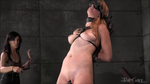 Tight tying, spanking and castigation for very hot floozy Full HD 1080p