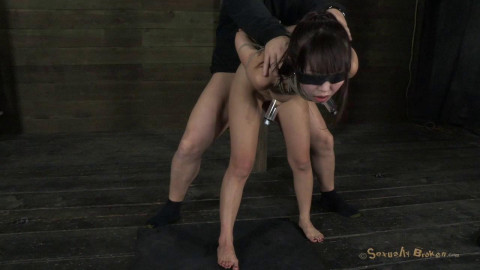 Japanese Girl Roughly Deep Throated and Fucked