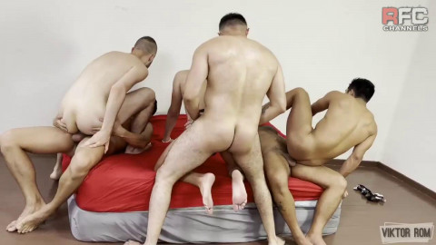 RawFuckClub Orgy On Fire - Viktor Rom