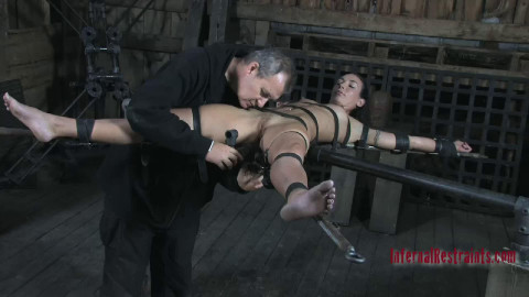 Hard tying and torment for very concupiscent dark brown part 1 Full HD 1080p
