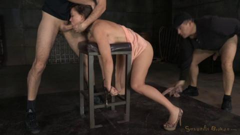 Busty porn star Krissy