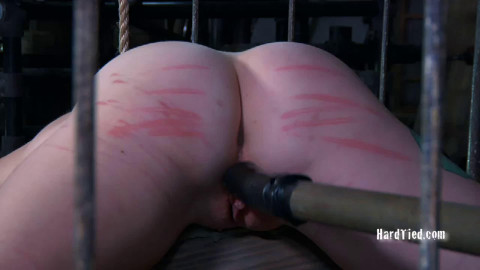 Bondage, spanking and castigation for exposed blond part 1 HD 1080p