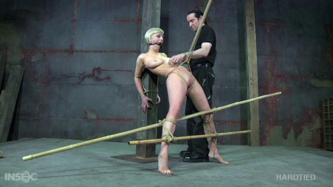 Restraint bondage Tortures For Wicked Cherry Torn