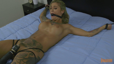 Tattooed Mega Babe is Made to Cum Krysta Kaos (2017)