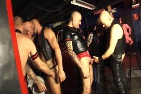 Pervert fuckfests at dirtiest sex club in city