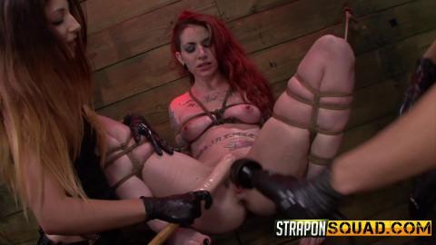 Sheena Roses Strapon Whore Training Session with Mila Blaze and Alexa Rydell (2016)