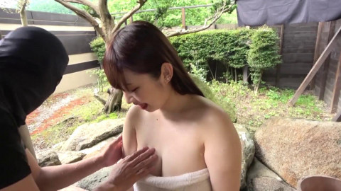 Creampied In The Outside Hot Spring
