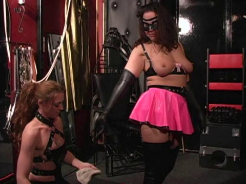 Latex Rubber - Katrina Stinky - Domination HD