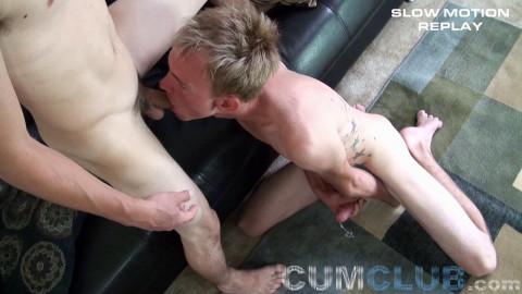 Sucking Straight Spunk (Talen Matthews, Ashton Clarke)