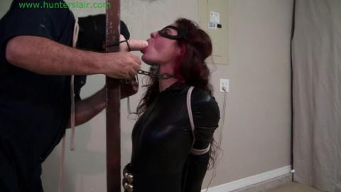 HunterSlair - Ginary - Bound  humiliated at the post