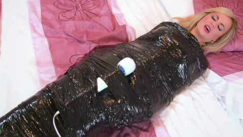 Its a Wrap - Mummified as a Fuck Toy! - HD 720p