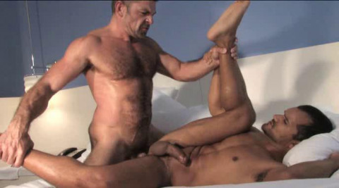 Individual fuck for naughty studs