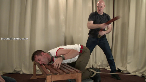 Marc - Sexy physical restrained with drilled