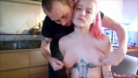 Hands On Titty Punishment