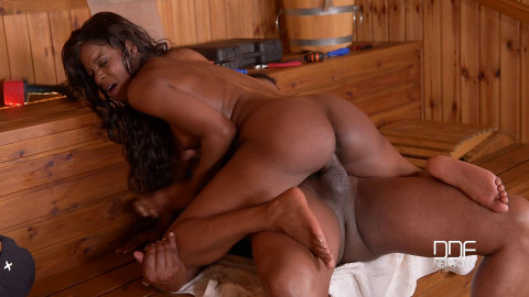 Jasmine Webb - His Big Black Cock Makes Her Wet And Hot (2016)