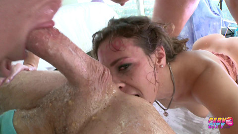 Uncensored Extreme Puke Blowjob Maddy OReilly and Callie Calypso