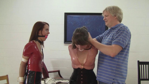 Madalynn Raye And Elizabeth Andrews :The Bound Leading The Bound